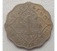 Индия (британская) 1 анна 1914