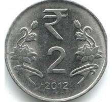 Индия 2 рупии 2011-2019