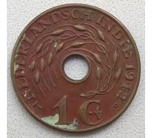 Индия (нидерландская) 1 цент 1942