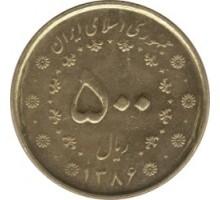 Иран 500 риалов 2007