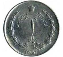 Иран 1 риал 1959-1975