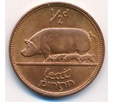Ирландия 1/2 пенни 1939-1967