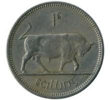 Ирландия 1 шиллинг 1951-1968