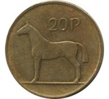 Ирландия 20 пенсов 1986-2000