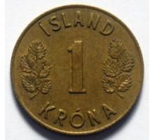 Исландия 1 крона 1957-1975