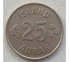 Исландия 25 эйре 1946-1967