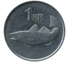 Исландия 1 крона 1981-1987