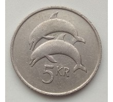 Исландия 5 крон 1981-1992