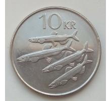 Исландия 10 крон 1996-2008