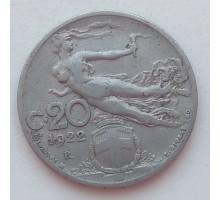 Италия 20 чентезимо 1922
