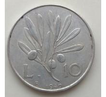 Италия 10 лир 1949