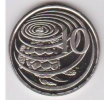 Каймановы острова 10 центов 1999-2017