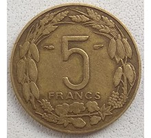 Камерун (французская Экваториальная Африка) 5 франков 1958