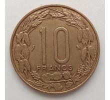 Камерун (Экваториальная Африка) 10 франков 1961-1962