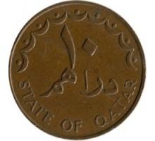 Катар 10 дирхамов 1972-1973