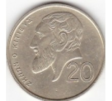 Кипр 20 центов 1991-2004