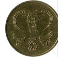 Кипр 5 центов 1991-2004