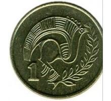 Кипр 1 цент 1991-2004