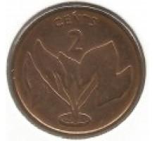 Кирибати 2 цента 1979-1992