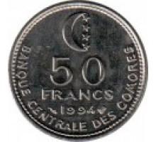 Коморские острова 50 франков 1994