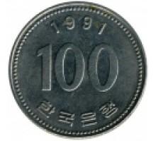 Южная Корея 100 вон 1983-2016