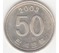 Южная Корея 50 вон 1983-2016