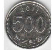 Южная Корея 500 вон 1982-2018