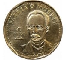 Куба 1 песо 1991-2016. Хосе Марти