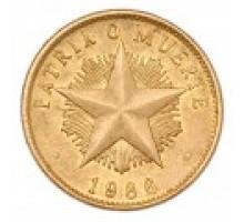 Куба 1 песо 1983-1989