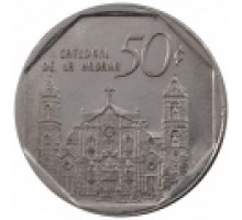 Куба 50 сентаво 1994-2017