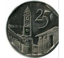Куба 25 сентаво 1994-2008