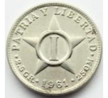 Куба 1 сентаво 1946-1961
