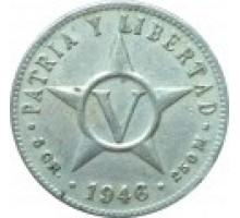Куба 5 сентаво 1946-1961