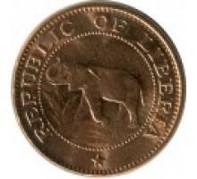 Либерия 1 цент 1960-1984