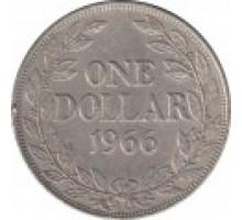 Либерия 1 доллар 1966