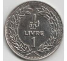 Ливан 1 ливр 1986