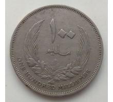 Ливия 100 миллим 1965
