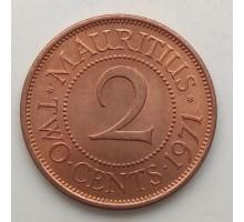 Маврикий 2 цента 1953-1978