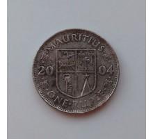 Маврикий 1 рупия 2004 (1057)