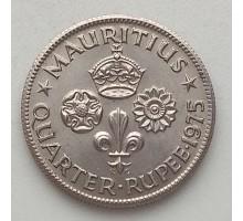 Маврикий 1/4 рупии 1960-1978