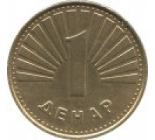 Македония 1 денар 2000