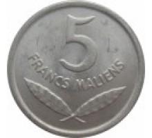 Мали 5 франков 1961