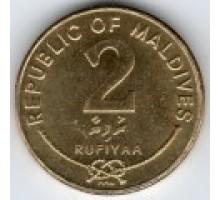 Мальдивы 2 руфии 2007