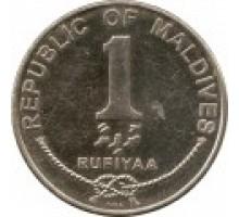 Мальдивы 1 руфия 2007-2012