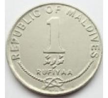 Мальдивы 1 руфия 1984-1996