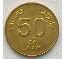 Мальдивы 50 лари 2008