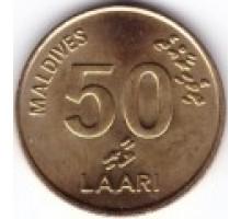 Мальдивы 50 лари 1984-1995