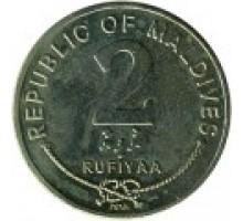 Мальдивы 2 руфии 1995