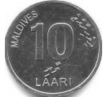 Мальдивы 10 лари 2012