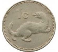 Мальта 1 цент 1986